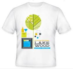 Official 2012 LAF T-Shirt
