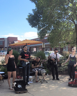 Teasebox Performs at Lakewood City Center Park